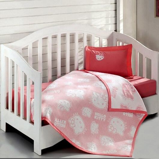 Ясельное постельное белье Hello Kitty