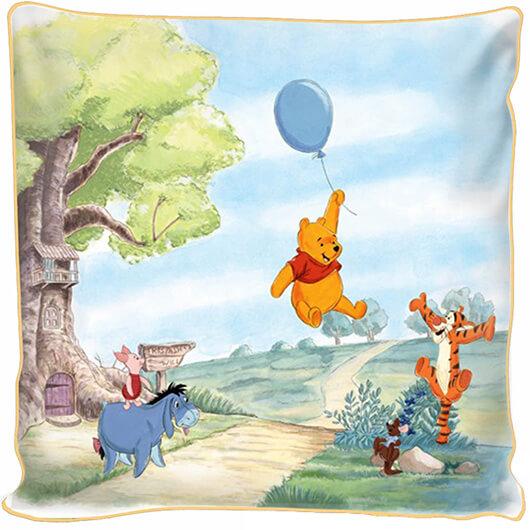 """Фотоподушка """"Винни Пух на воздушном шарике"""""""