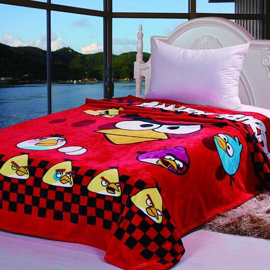Детский плед Angry Birds