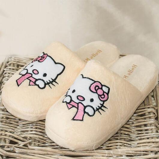 Тапочки для девочки Hello Kitty
