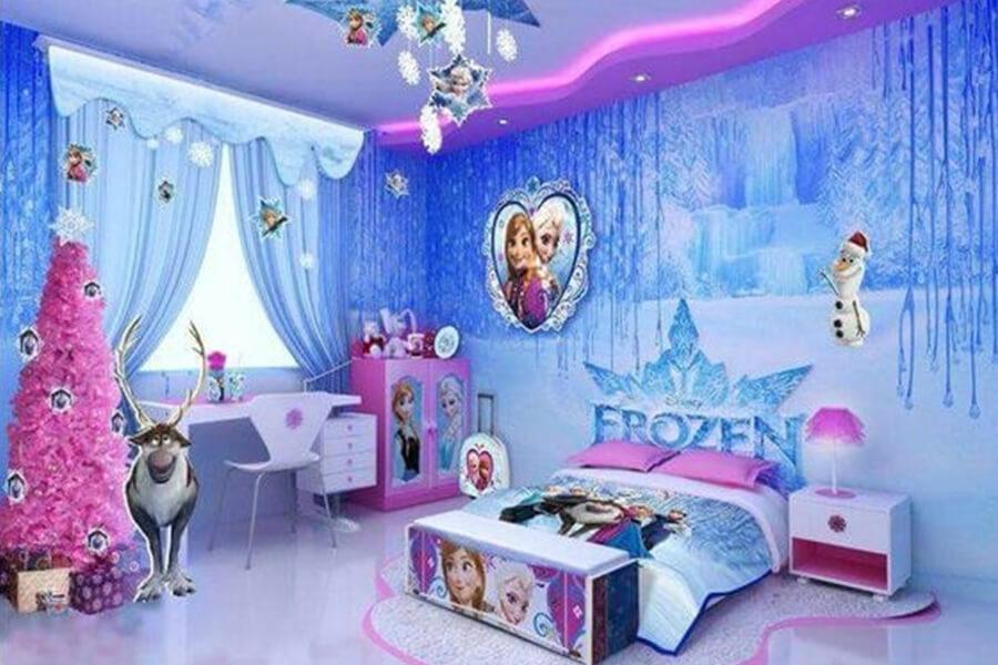 Детская комната Холодное сердце