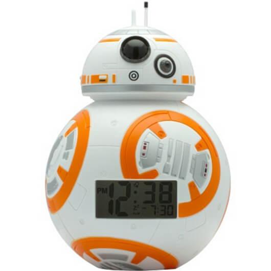 """Часы-будильник """"Дроид BB-8"""" Звездные войны"""""""