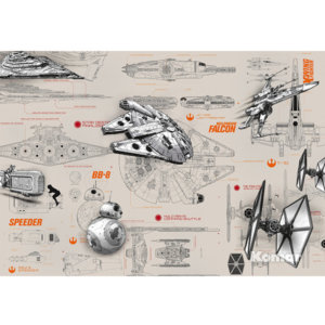 Фотообои Blueprints Star Wars