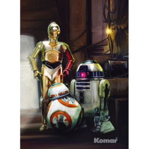 Фотообои Three Droids Star Wars
