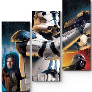 Модульные картины Звездные войны