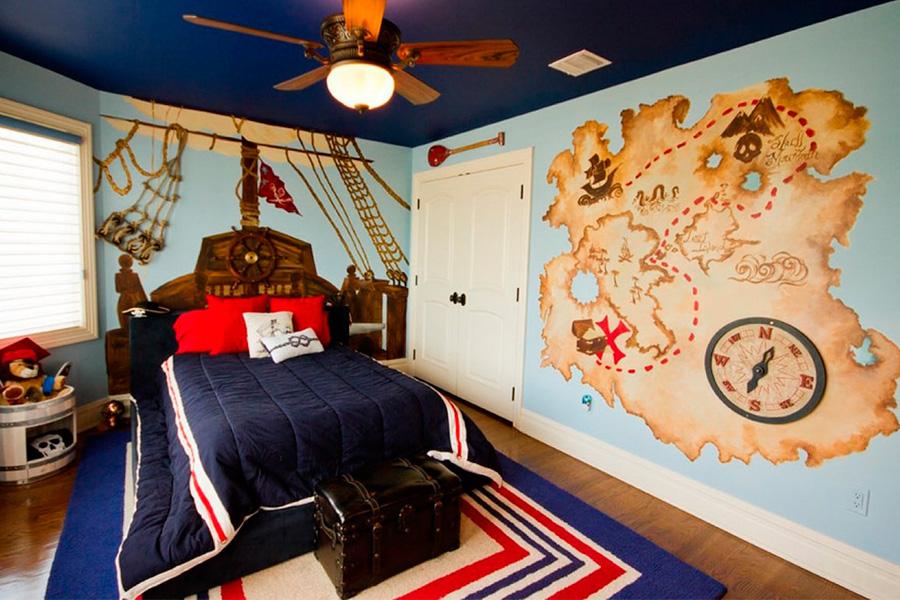 Комната в пиратском стиле