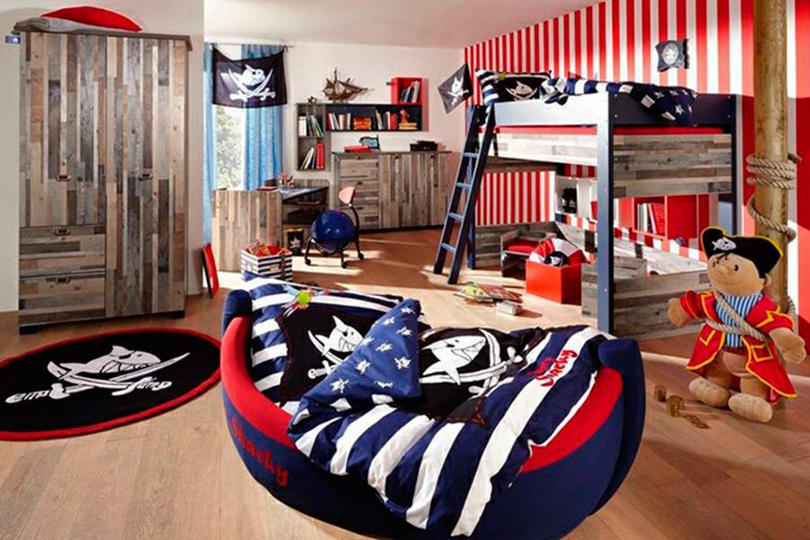 Комната в стиле Пираты