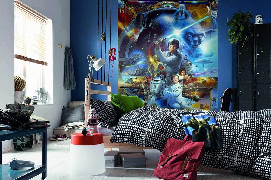 Детская комната Звездные войны