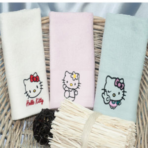Набор детских полотенец Hello Kitty
