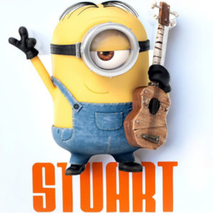 "3D Ночник ""Миньон Стюарт"""