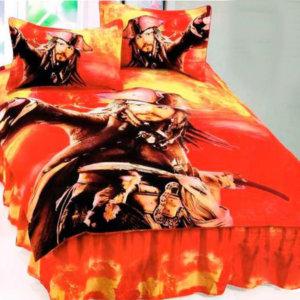 """Комплект постельного белья """"Пираты Карибского моря"""""""