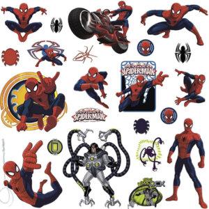 """Наклейки для декора """"Человек паук"""""""