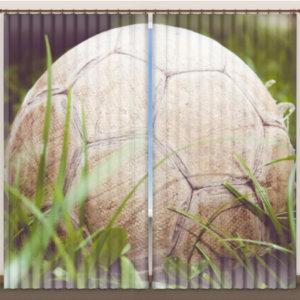 """Фотошторы """"Мяч в траве"""""""