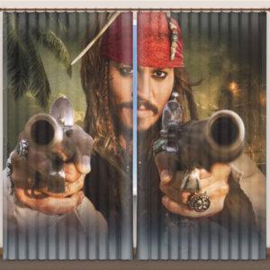 """Фотошторы """"Пираты Карибского моря"""""""