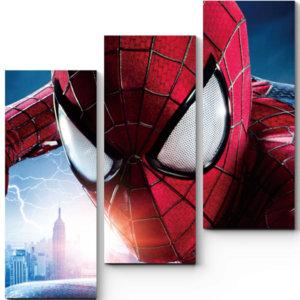 """Модульная картина """"Человек-паук"""""""