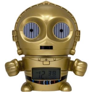 Часы-будильник BulbBotz C-3PO