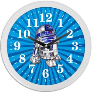 """Часы настенные R2-D2, """"Звездные войны"""""""