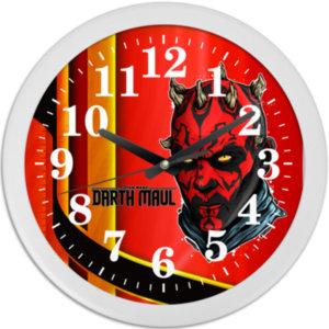 Часы настенные Darth Maul