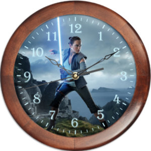 "Часы настенные ""Рей"" Звездные войны"""