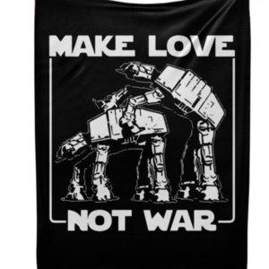 Плед Make love not war