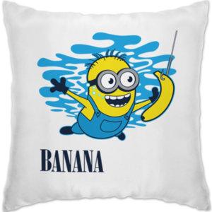 """Подушка Banana """"Миньоны"""""""