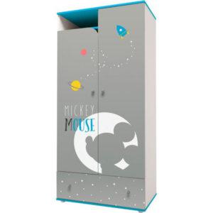 Шкаф двухсекционный «Микки Маус»