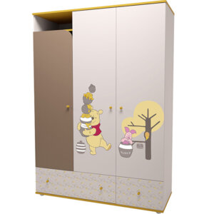 Шкаф трехсекционный «Винни Пух»