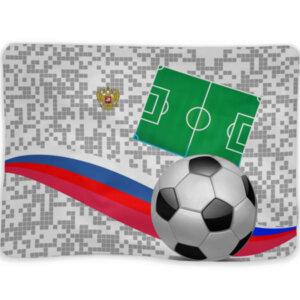 "Плед ""Российский футбол"""
