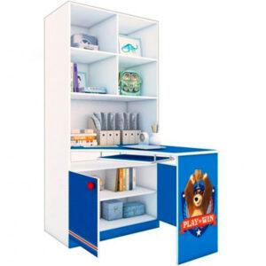 """Шкаф-стеллаж со столом """"Маша и Медведь"""""""