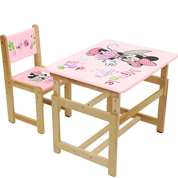 """Комплект растущей детской мебели """"Минни Маус"""""""