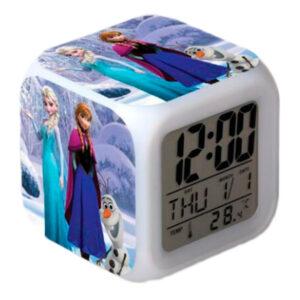 "Часы-будильник ""Эльза, Анна и Олаф"""