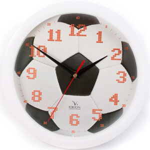 """Настенные часы """"Футбольный мяч"""""""