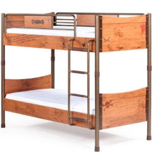 Двухъярусная кровать Black Pirate