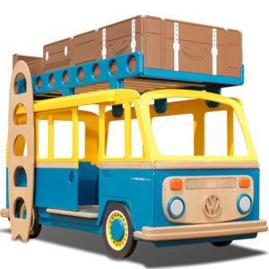 Двухъярусная кровать Volkswagen Camper