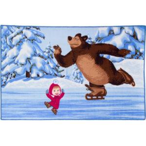 """Ковер """"На льду"""" Маша и Медведь"""""""