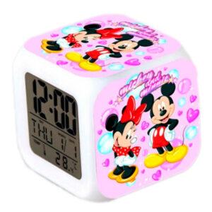 """Часы-будильник """"Микки и Минни Маус"""""""