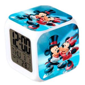 """Часы-будильник """"Минни и Микки Маус"""""""
