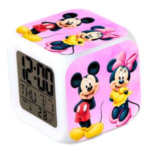 """Часы-будильник """"Микки Маус и Минни"""""""