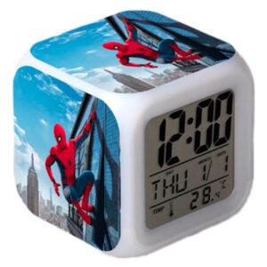 """Часы-будильник """"Человек-паук"""""""