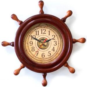 """Настенные часы """"Штурвал"""""""