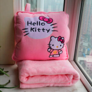 Подушка-плед Hello Kitty