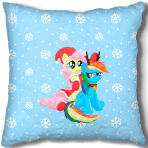 Подушка Rainbow Dash and Fluttershy