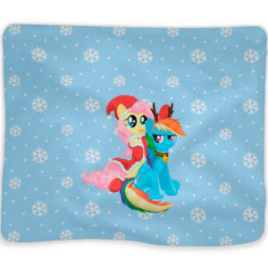 """Плед """"Rainbow Dash and Fluttershy"""""""