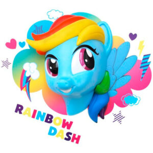 3D светильник Rainbow Dash