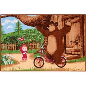 """Ковер """"На велосипеде"""" Маша и Медведь"""""""