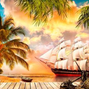 """Фотообои """"Остров пиратов"""""""