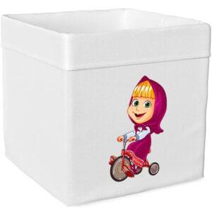 """Ящик для игрушек """"Маша и Медведь"""""""