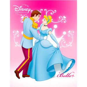 """Ковер """"Золушка и Принц"""""""