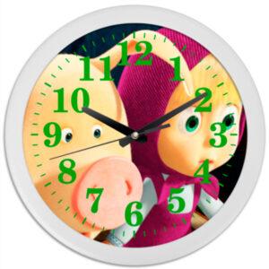 """Часы """"Маша и Медведь"""""""