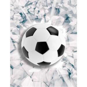 """Фотообои """"3D футбольный мяч"""""""